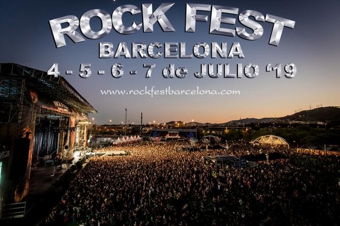 Rock Fest Barcelona vuelve en 2019 y ya tiene fecha