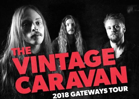 The Vintage Caravan nos visitarán con Wucan y Black Mirrors