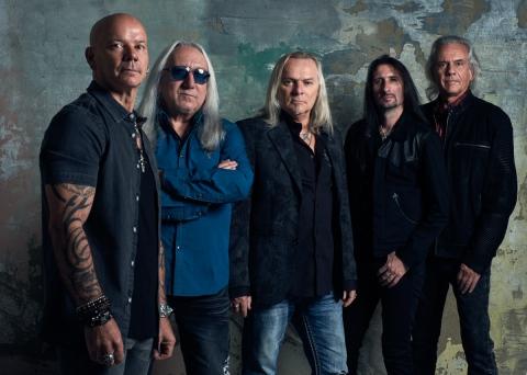 Uriah Heep vuelven de gira en enero de 2019