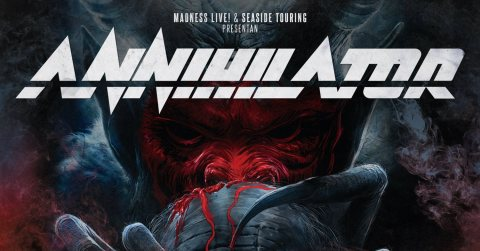 Annihilator, recordamos su Tour For the Demented