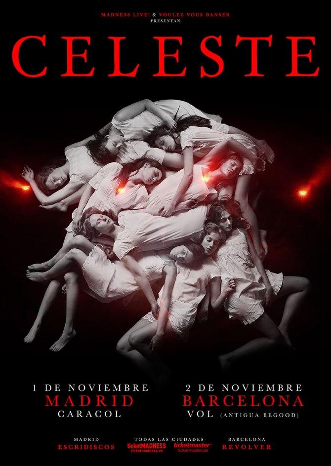 Celeste de gira por Madrid y Barcelona en noviembre