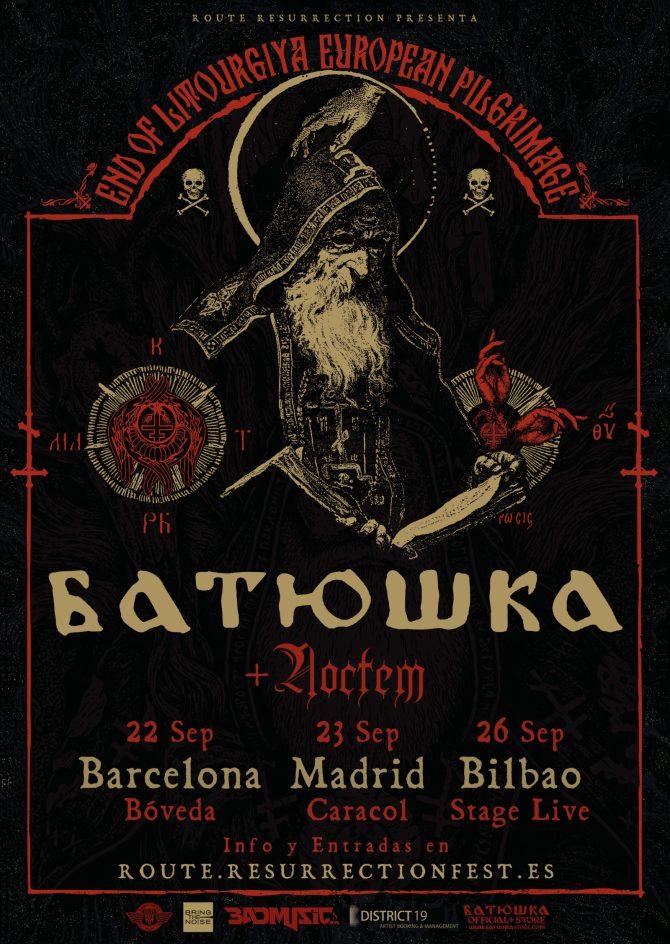 Noctem junto a Batushka en su gira en septiembre