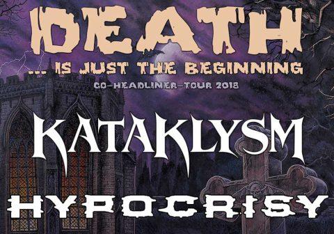 Recordamos la gira de Kataklysm e Hypocrisy en otoño 2018