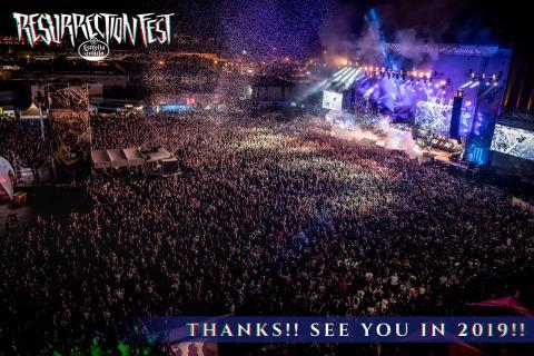 Resurrection Fest abre la encuesta de bandas 2019