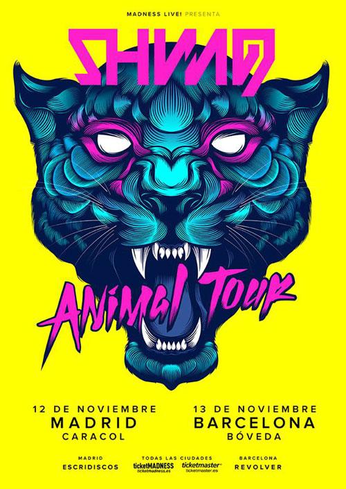 """Shining gira en noviembre presentando nuevo disco, """"Animal"""""""