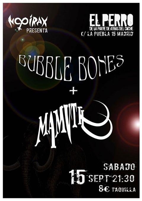 Turbo cita rockera con Bubble Bones y Mamvth en septiembre