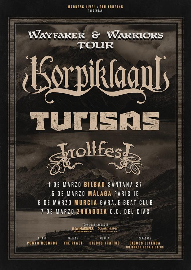 Turbo gira de Folk Metal con Korpiklaani, Turisas y Trollfest